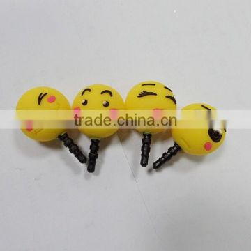 Custom rabbit dust plug,Custom phone dust plug,Plastic earphone dust plugs