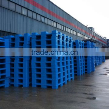 1000*1000 double side plastic pallet for warehouse racking