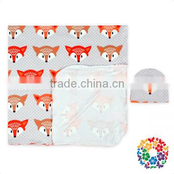 Infant And Toddler One Layer Summer Cheap Blanket Cartoon Pattern Muslin Baby Swaddle Blankets
