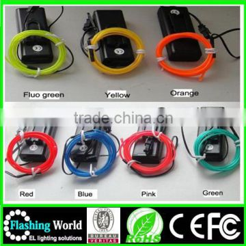 neon China factory OEM flashing el chasing wire