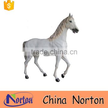 antique white horse bronze statue for sale NTBH-HR030Y