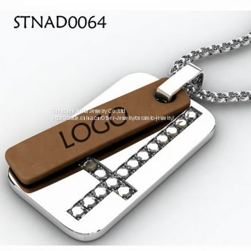 Birthday Gift Stainless Steel Pendant For Men As Accessory