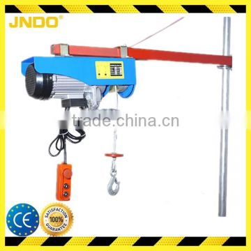 500kg AC mini electric winch with 12 meters steel rope
