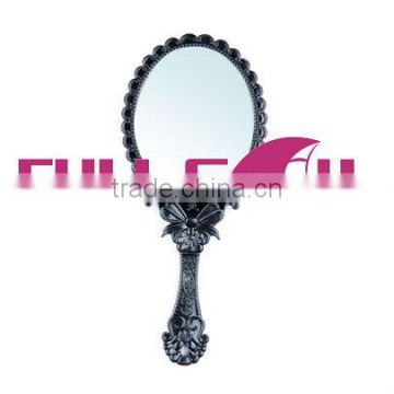 single-side alumium handle makeup mirror