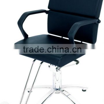 black color hairdressing chairs with old style