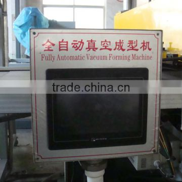 Fast food box fully automatic vacuum forming machine 04
