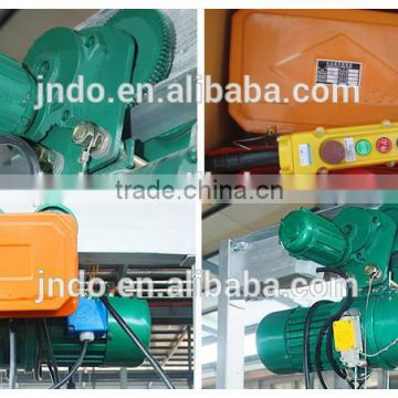 used portable construction electric winch hoist for small crane