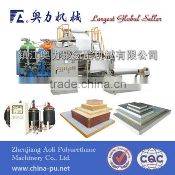 polyurethane sandwich panel machinery