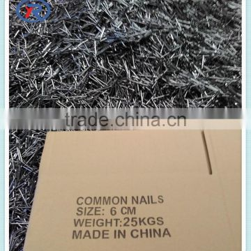common nails for construction usage iron nails&flat head black common nails