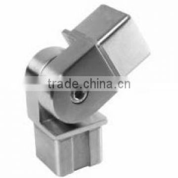 Stainless steel square flush joiner, square tube joiner, square elbow, square tube connector
