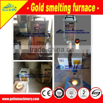 Complete alluvial gold separating equipment
