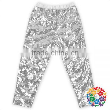 Apparel Supplier Baby Sequin Pants Wholesale Fashion Girls Long Pants Fashion Girls Short Pants