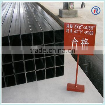 thin wall hot dip galvanized square tube and rectangular welded steel pipe