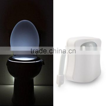 Motion Activated led Toilet Light soft light fits any toilet