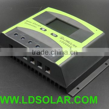 48V 60A pwm solar charge controller with LCD screen
