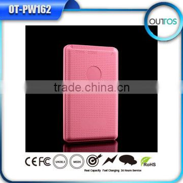 mobile power bank 4000mah super slim portable power bank