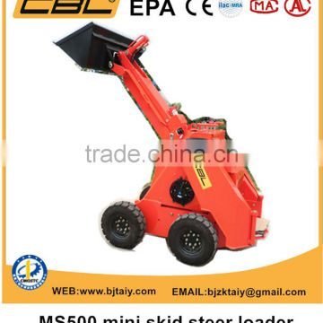 small mini skid steer loaders from China cheap price