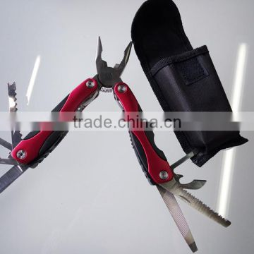 Wholesales Mutil tool Red Mutil-Function Combination Pliers for out door survival