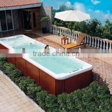 MEXDA Aristeach acrylic pool ,swimming spa pool, outdoor pool WS-S08B(CE,SAA,ETL,TUV,SUV,ISO)