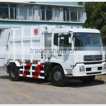 garbage compactor truck 4X2 rear loading