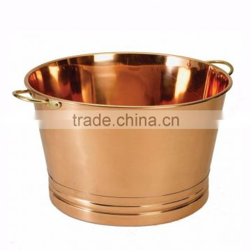 high quality copper material bar & party wine beer bucket