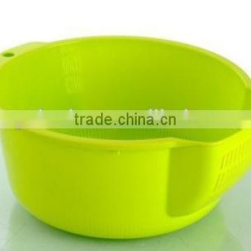 plastic PP kitchen fruit and vegetable basket