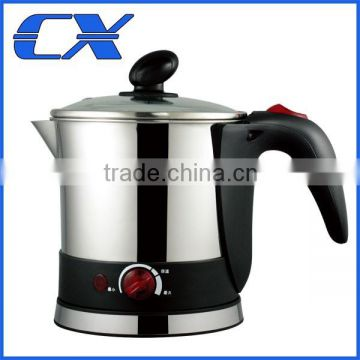 Electric Hot Pot Noodle Boiler Vegetable Preparer Kitchen Kettle Rapid