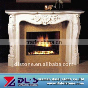Marble fireplace frame
