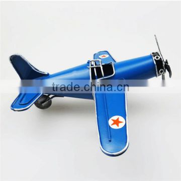 Custom reminiscence fighter aircraft model vintage metal model plane