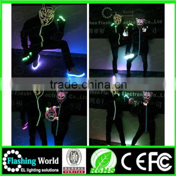Music activated neon shop china el panel mask