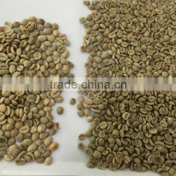 High quality coffee beans processing by intelligent color sorter machine