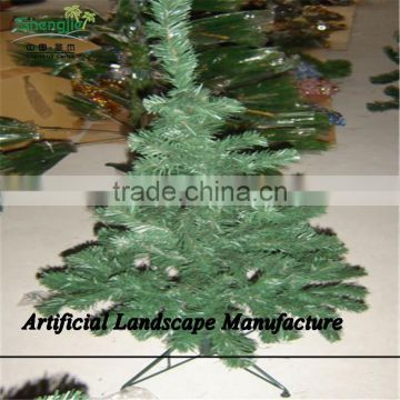 SJZJN 1502 Common pvc artificial christmas tree best sale Home Decoration snowing Christmas trees