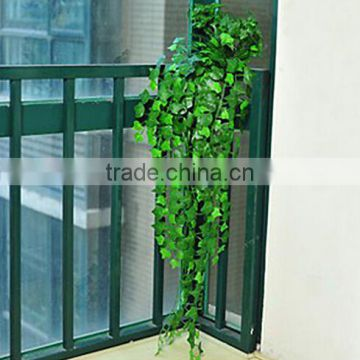 1m to 2.2m long EZ09 0107 new decoration artificial flanged plastic black green hanging bushings square