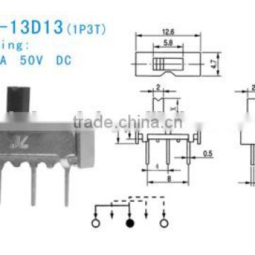 SS-12D13 Slide Switch