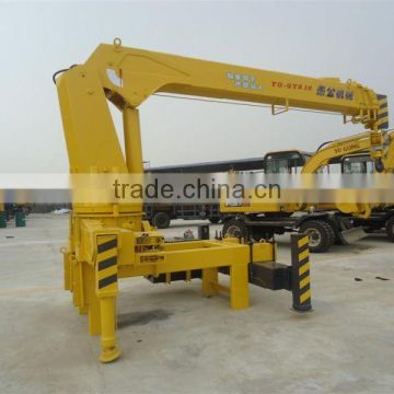 QYS8t hitachi crane truck wheel buggy for sale