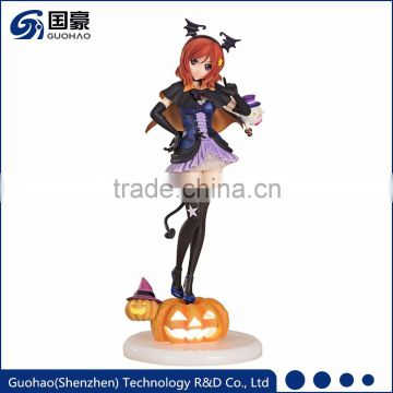 Halloween theme pumpkin love live sexy girl Pile statue