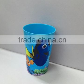 cartoons customized logo plastic cup