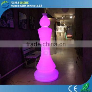 Music Control Garden Decorative Illuminated LED Giant Chess