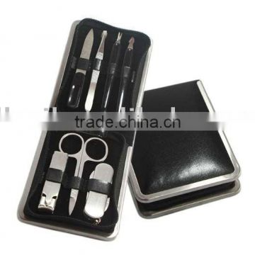 7 pcs stainless steel manicure set