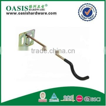 SWIVEL HOOK YELLOW ZINC PLATED WITH PLASTICIZED HOOK