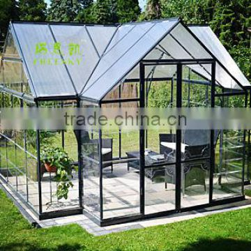 garden decoration clear glass large glass used greenhouse sale