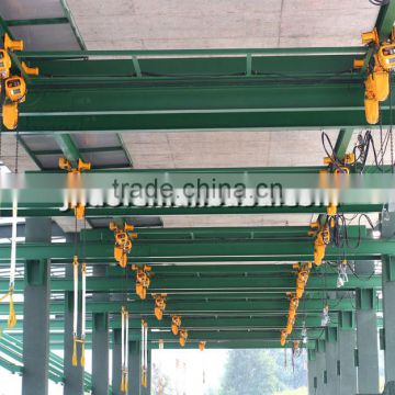 1 ton moved type electric chain hoist used on jib crane