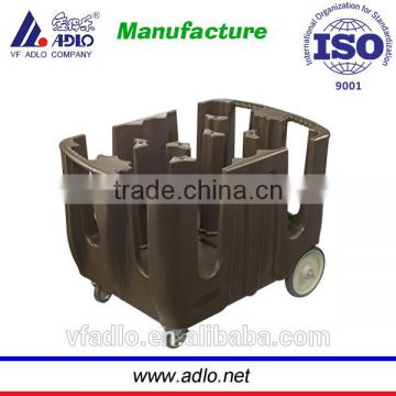 China cheap factory hotel serving PE dish transport caddy