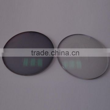 resin photochromic lens for eyeglasses made in China