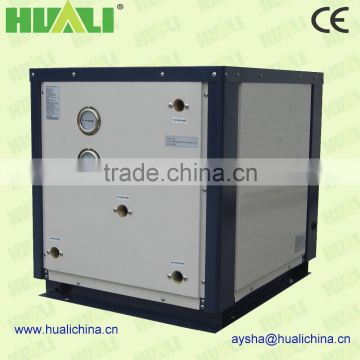 heat pump for cooling and heating floor