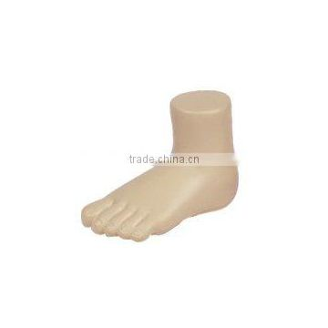 PU stress foot squeeze toy/foot shape stress reliever/anti stress foot foam toy