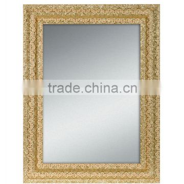mediun sized wall decorative special styling mirror in wood frames