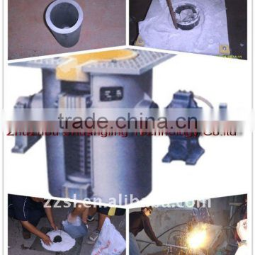 Small gold/silver melting induction furnace