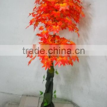chinese maple trees poetic and romantic artificial tree decorative red artificial maple tree