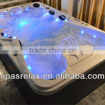 outdoor mini pool spa/large outdoor spa pool/air jet outdoor swim pool spa hot tub